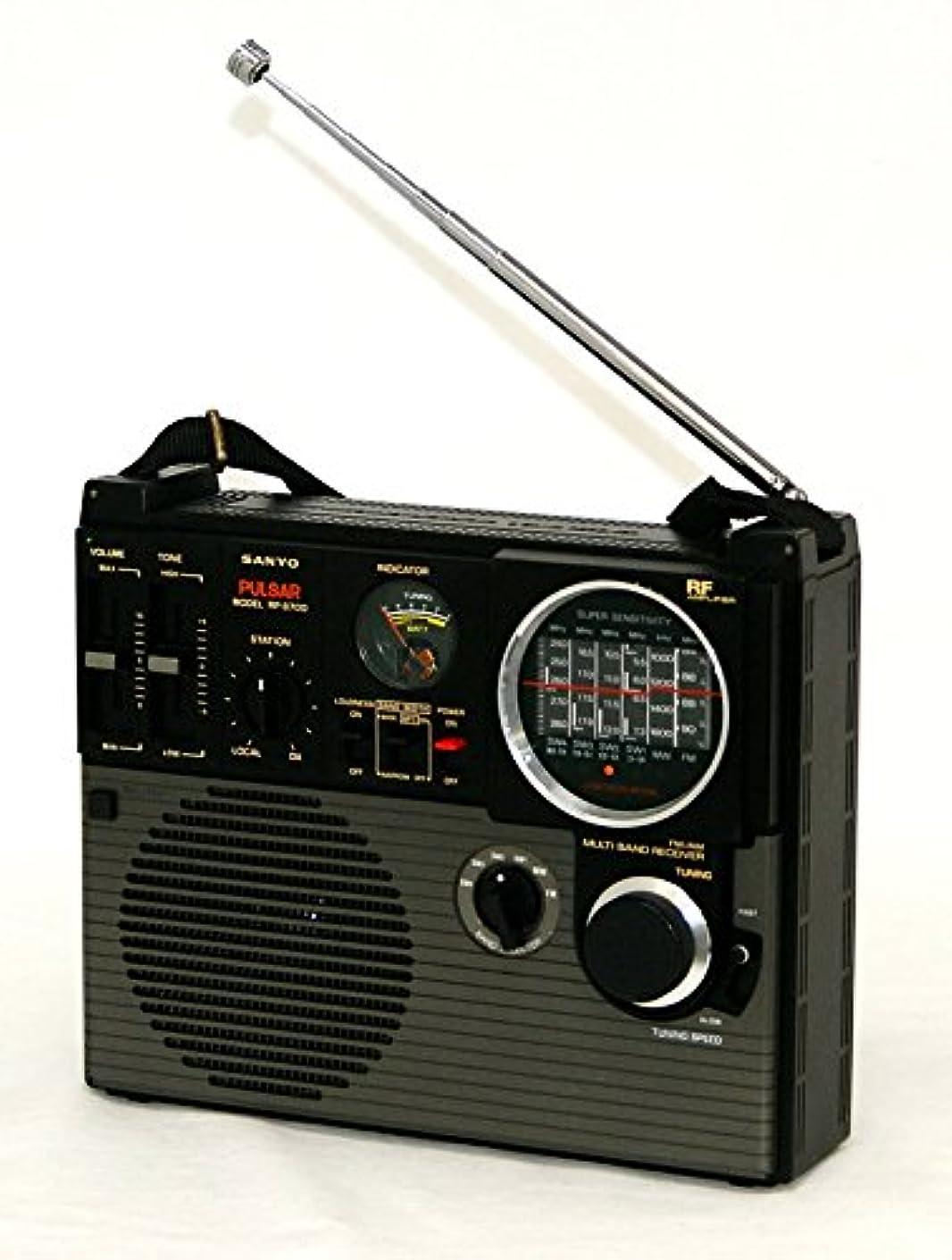 ハリケーンプレミアどこにもSANYO サンヨー 三洋 RP8700 パルサー FM/MW/SW1~4 (FM/中波/短波) 6バンド BCLラジオ