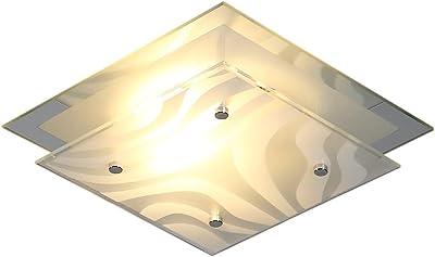 Stilvolle 18W LED Wand Leuchte Lampe Treppenhaus Chrom Acryl EEK A sparsam Spot