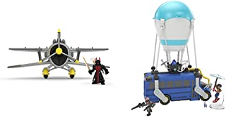 Fortnite Battle Royale Collection: X-4 Stormwing Plane & Ice King Figure & Battle Royale Collection Battle Bus & 2 Exclusive Figures: Funk Ops & Burnout