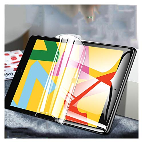 Screen protector Hydrogel Film For Ipad MINI 123 4 5 Screen Protector For Ipad Air 2 3 6 Soft Film For Ipad Pro 2018 9.7 7.9 10.2 Inch Full Cover Microsoft Surface ( Color : IPad 2 3 4 (9.7inch) )