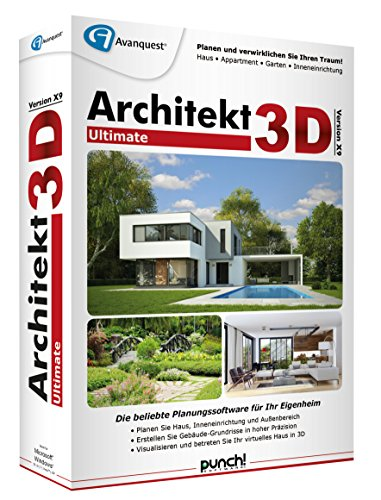 Avanquest/Punch -  Architekt 3D X9