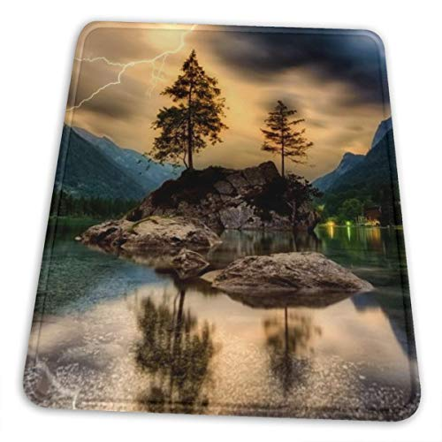 Genthou Dusk Sky Reflections Customized Rectangle Non-Slip Rubber Mousepad Gaming Mouse Pad-403