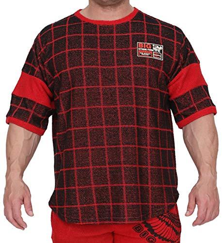 BIG SM EXTREME SPORTSWEAR Hombre Ragtop Rag Top Camiseta de Culturismo Camisa del músculo Shirt T-Shirt Polo 3257