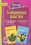 5 séquences pour lire La chachatatutu et le phénix & Le grain de riz
