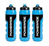 Powerade Squeeze Water Bottle 32 oz (3 Pack)