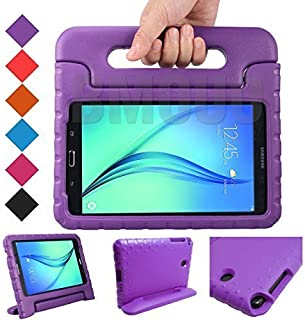 BMOUO Kids Case for Samsung Galaxy Tab E Lite 7.0 inch - Shockproof Case Light Weight Kids Case Super Protection Cover Handle Stand Case for Children for Samsung Galaxy Tab E Lite 7 Tablet - Purple