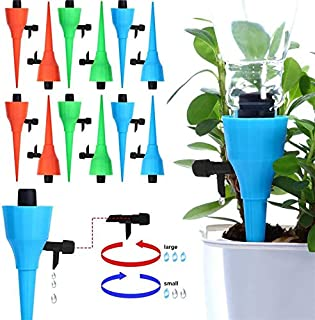 Tool Parts - 6/12Pcs Upgrade Thickened Self Automatic Sprayer Watering Device Adjustable Flow Dripper Spikes Control Valve...