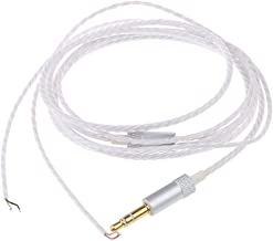 KESOTO Elastic Semi-Finished High Elasticity Finished Wire - White and Silver, as described
