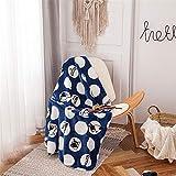LYJZH Gemütliche modische Elegante Decke - perfekt für das Sofa oder Bett - luxuriöse und...