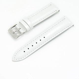 CASSIS カシス カーフ 時計ベルト 裏面防水素材 REIMS ランス 17mm ホワイト 交換工具付き U10257A1017017