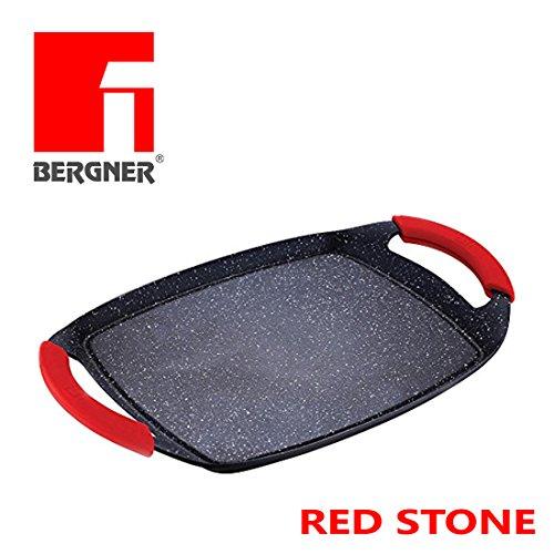 Parrilla cocción Red Stone multifuncional cocinar