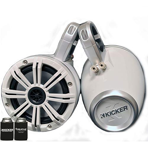 KICKER White Wake Tower System 6.5