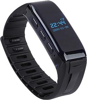Garsent Armband digitaal dicteerapparaat, draadloze 8 GB USB-voicerecorder, draagbare audiorecorder met armband voor lezin...