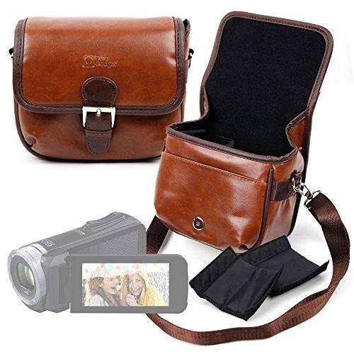 DURAGADGET Borsa Vintage per Videocamera JVC Everio GZ-RX110 | GZ-R415DEU - con Tracolla Regolabile - Separatore Interno Removibile