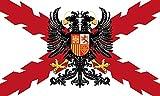 Gemelolandia | Bandera Tercios de Flandes 150x90cm | Del Mundo, Históricas, de Países Para Decoración de Cualquier Espacio
