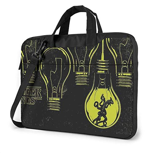 Stranger Yellow Thing Laptop Sleeve Case Computer Tote Bag Shoulder Messenger Briefcase For Business Travel