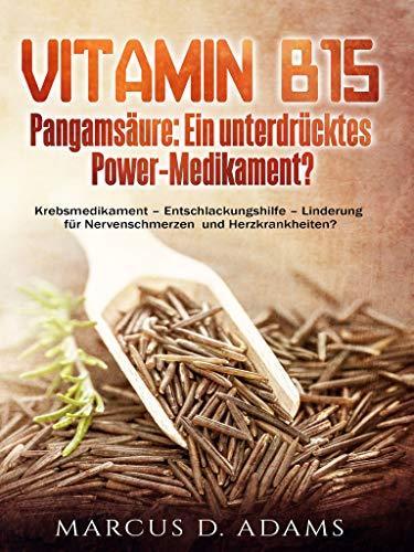 Vitamin B15 - Pangamsäure: Ein unterdrücktes Power-Medikament?: Krebsmedikament - Entschlackungshilfe - Linderung für Nervenschmerzen und Herzkrankheiten?
