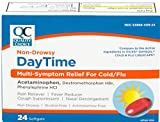 Quality Choice Daytime Cold & Flu Multi-Symptom Softgels 24 CT