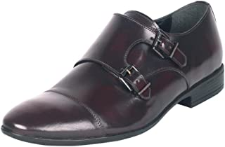 Salt N Pepper ZoopBoss Wine Real Leather Men Casual Shoes
