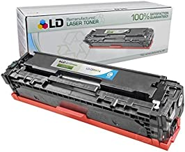 LD Remanufactured Toner Cartridge Replacement for HP 125A CB541A (Cyan)