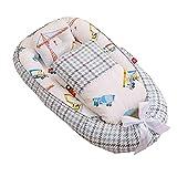 GWHW Nido de bebé Nido para dormir nido de viaje de la siesta del nido del bebé con el arco y la almohada, tumbona del bebé cuna para recién nacido