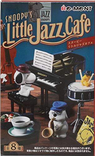 Miniaturas de Re-Ment Snoopy's Little Jazz Cafe en Caja