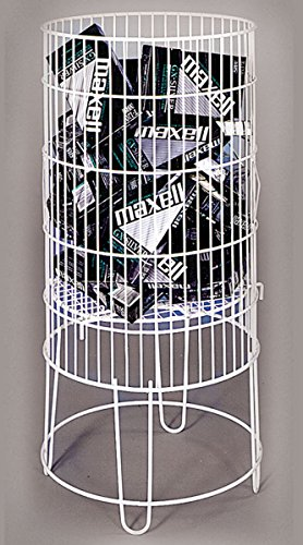 Collapsible Round Dump Bin Display Basket Retail Store Fixture 15