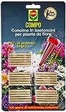 Compo 1206312005 Concime in Bastoncini per Fiore, 30 Pezzi, Marrone, 0.5x14.4x24.3 cm