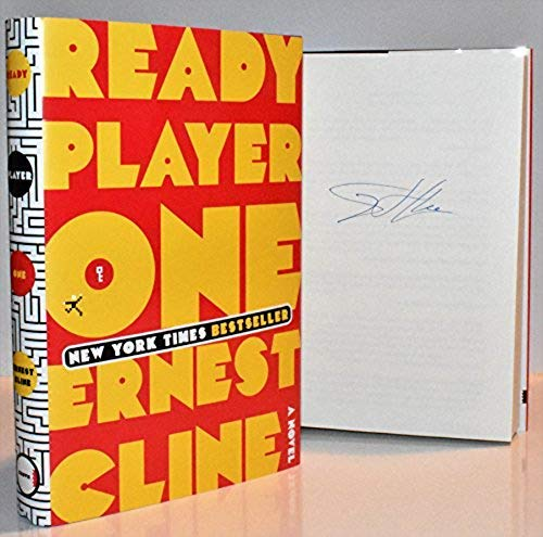 Ready Player One AUTOGRAPHED by Ernest Cline (SIGNED EDITION)