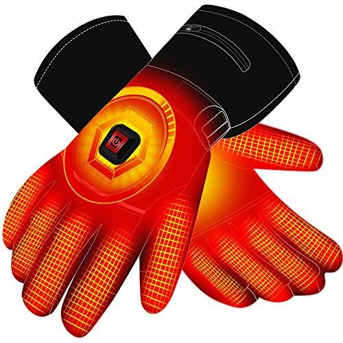 Autocastle Men Women Rechargeable Electric Warm Heated Gloves Battery...