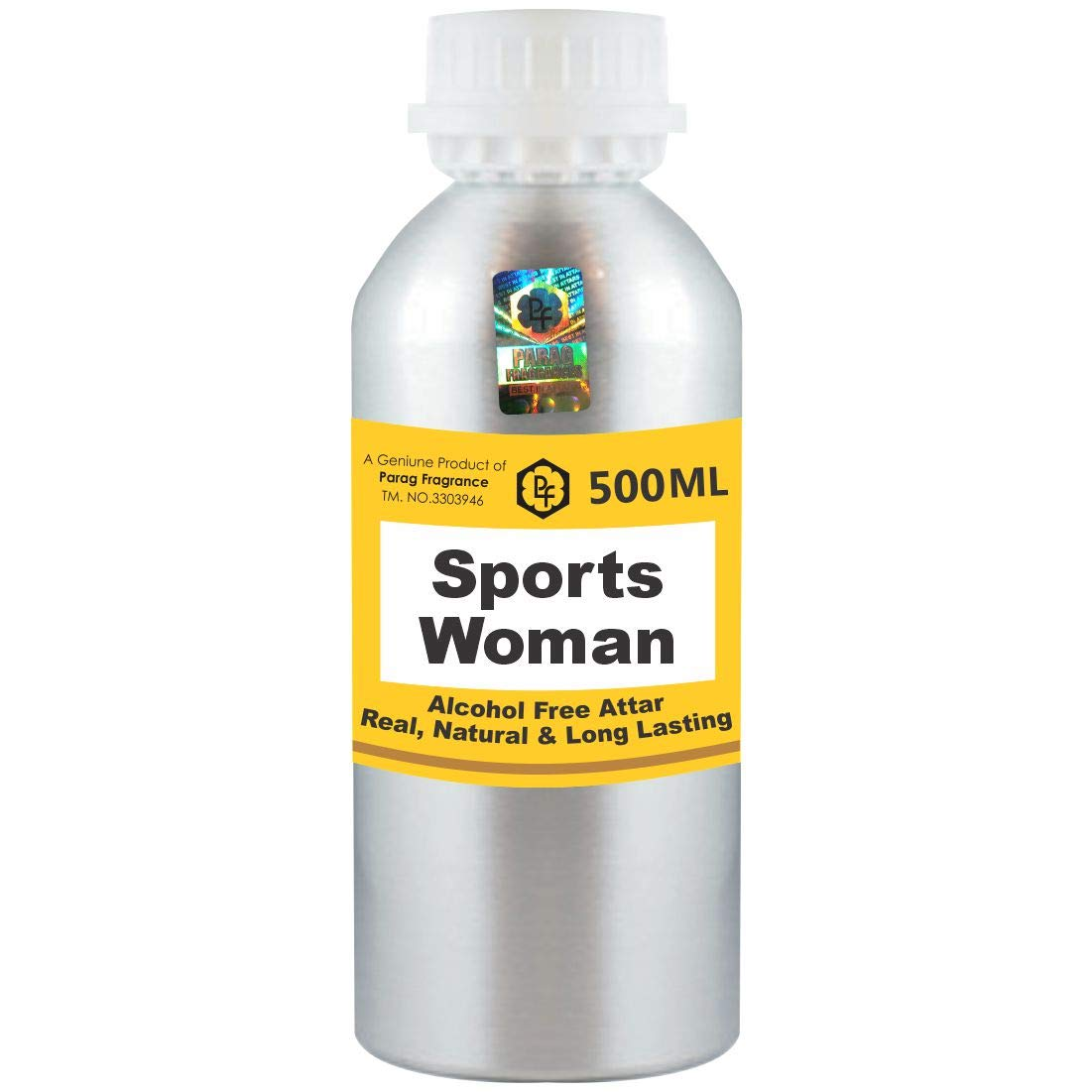 Parag Fragrances Sports Woman Pack Cheap super special price Attar 500ml Max 78% OFF Wholesale