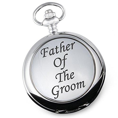 'Father of The Groom, Taschenuhr-Box Father of The Groom, für Hochzeit