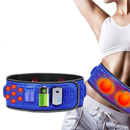 HWXDH Entrenador Abdominal Cinturón Muscular Abdominal Cinturón Adelgazante eléctrico Masaje para Perder...