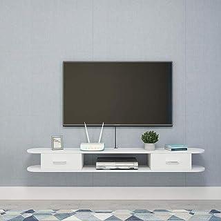 Stand de fleurs Étagère Étagère rangement Étagère flottante meuble de télévision meuble étagère murale avec tiroirs chambr...