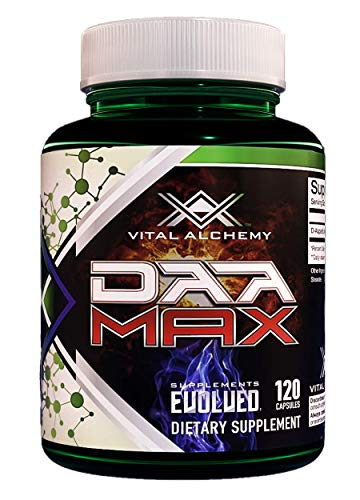 DAA MAX - Natural Test Booster For Men - Strength, Muscle, Drive And Vitality Booster - 120 Capsules