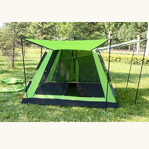 Dorling Kindersley Multimedia - DK Tenda Esterna Self-Driving Camping Campeggio 4-6 Persone Completamente Automatico Tenda Idraulica Ultra Leggero Portatile Facile da Accogliere,Green