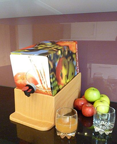 LukaArtDesign Bag in Box Ausschankständer 5L Holzoptik