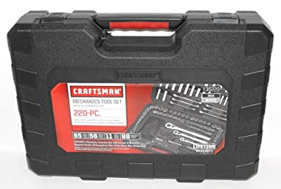 Craftsman 220 pc. Mechanics Tool Set with Case, # 36220 (Newest Version) from Craftsman