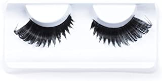 IMSTYLE Fluffy Thick Long Black Drag Queen Eyelashes False Eye Lashes Extensions for Costume Cosplay Stage Makeup1 Pair (X08)