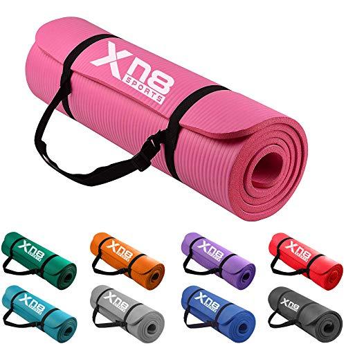XN8 Tapis de Yoga epais sport fitness Antidérapant d