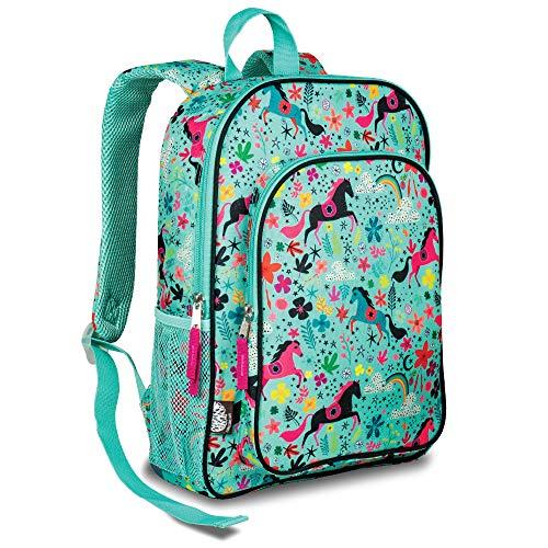 LONECONE Kids School Backpack for Boys amp Girls  Sized for Kindergarten Preschool  Moroccan Horses