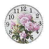 DIY Pintura por Números-5D Diamante Pintura Reloj Kits 11,8
