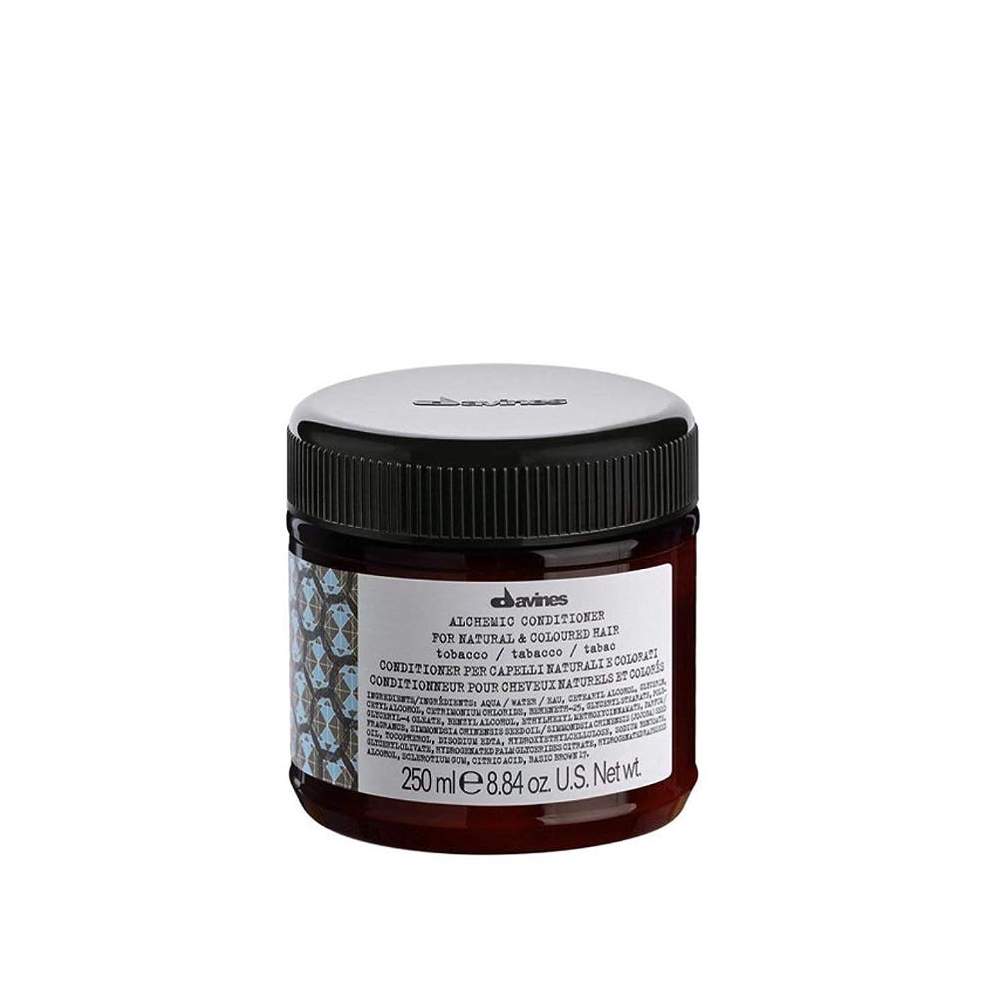 サスペンションポーチ無効ダヴィネス Alchemic Conditioner - # Tobacco (For Natural & Coloured Hair) 250ml/8.84oz並行輸入品