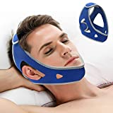 Chin Strap for CPAP Users- Snore Stopper & Anti Snore Chin Strap for CPAP Users- Breathable,Flexible & Easily Adjustable with Eversoft Technology