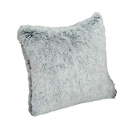 U/A Cushion Cover, 17.7x17.7 In, Long Hair Cushion Cover, Gradient Color Decorative Pillowcase, Suitable for Family, Banquet, Hotel, Two Pieces