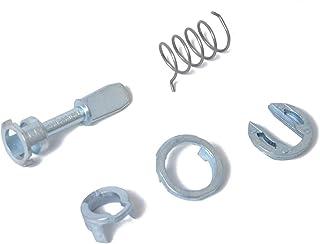Zerama 1U0837167E Puerta de Coche Cerradura de Cilindro Kit de reparación del reemplazo de Derecha y