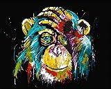 Rompecabezas para adultos, orangután, juegos de rompecabezas para la familia, rompecabezas de cartón, juegos educativos, rompecabezas de desafío cerebral para niños, niños, 500 piezas (52x38 cm)