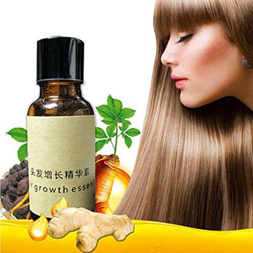 5 paquetes de tratamiento de pérdida de cabello original para el crecimiento de aceite y el crecimiento del cabello