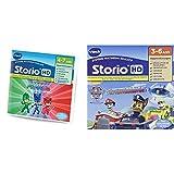 VTech - 271105 - Jeu HD Storio Le Pyjamasque & 274105 - Jeu pour Tablette - HD Storio - Pat Patrouille