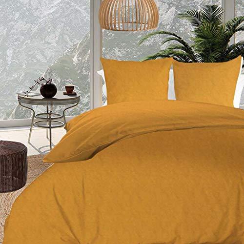 Intemporel Bohemia - Juego de Funda nórdica (220 x 240 cm), Color Amarillo